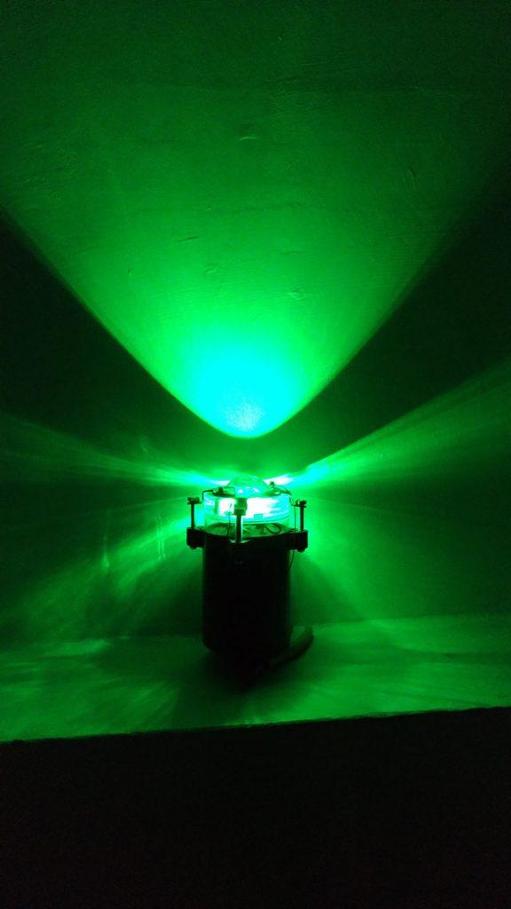 散光鏡魚燈