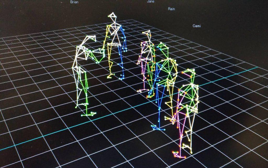多人VR全身動作捕捉演訓系統