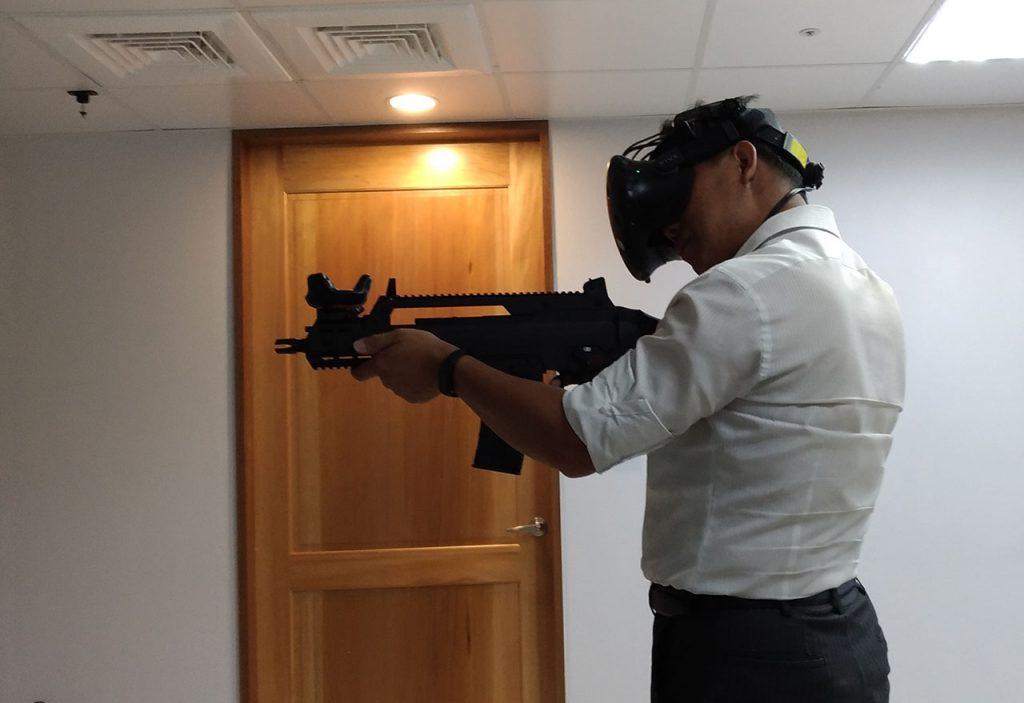 VR射擊打靶系統